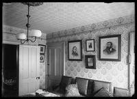 Unidentified interior, possibly Robert L. Bracklow's apartment, undated (ca. 1890-1919).