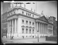 Appellate Division Courthouse, E. 25th Street and Madison Avenue, New York City, undated (ca. 1899-1919). Emulsion damage.
