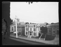 View from the roof of the General Wolfe Tavern, Newburyport, Massachusetts, undated (ca. 1882-1919).
