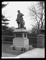 Statue of Albert Bertel Thorvaldsen, Central Park, New York City, 1896.