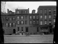 522, 524, 526, and 528 Hudson Street, New York City, 1895.