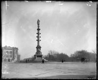 Columbus Monument at Columbus Circle, New York City, undated (ca. 1892-1919).