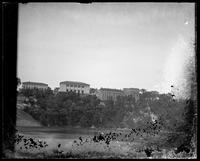 The New York University campus, Bronx, New York, undated (ca. 1894-1919). Emulsion damage.