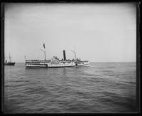 The steamer 'St. Johns,' near New York City, undated (ca. 1882-1919).