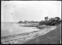 Shoreline and point, Marblehead, Massachusetts, undated (ca. 1882-1919).