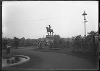 Statue of George Washington, Boston Public Gardens, Massachusetts, undated (ca.     1882-1919).