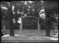Memorial to Robert Gould Shaw and the Massachusetts Fifty-Fourth Regiment, Boston     Common, Boston, Massachusetts, undated (ca. 1897-1919).
