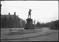 Statue of Leif Ericsson, Boston, Massachusetts, undated (ca. 1887-1919).