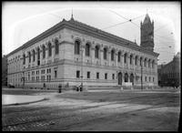The McKim Building, Boston Public Library, Copley Square, Boston, Massachusetts,     undated (ca. 1895-1919).