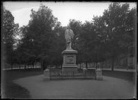 Statue of Alexander Hamilton, Commonwealth Avenue, Boston, Massachusetts, undated     (ca. 1882-1919).