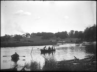 Boats in a stream, Marblehead Neck, Massachusetts, 1901.
