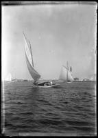 Sailboat, Marblehead Neck, Massachusetts, 1901.