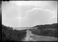View of Marblehead Harbor, looking south, Marblehead Neck, Massachusetts, undated     (ca. 1882-1919).
