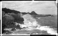 Rocks and surf, Marblehead Neck, Massachusetts, September 5, 1892.