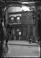 25 & 27 W. 21st Street, New York City, undated (ca. 1882-1919). Emulsion     damage.