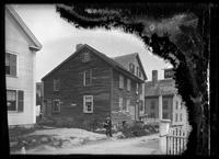Unidentified house near Tucker's Wharf, Marblehead, Massachusetts, undated (ca.     1882-1919).