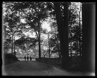 Walking through the Park, Marblehead, Massachusetts, 1890.