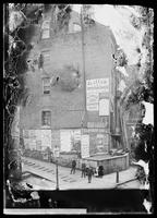 232 William Street, with many advertisements posted, New York City, 1892.