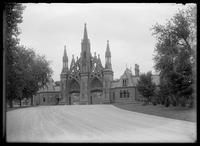 Entrance to Greenwood Cemetery, Brooklyn, undated (ca. 1890-1910).