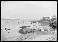 Corinthian Yacht Club and Point,  Marblehead, Massachusetts, August 24, 1891.