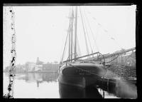 Schooner 'A.P. Emerson' moored in Marblehead, Massachusetts, undated (ca. 1890-1910).