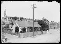Street and houses in Marblehead, Massachusetts, August 21, 1901.