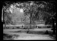 Frog Pond, Boston Common, Boston, Massachusetts, 1899.