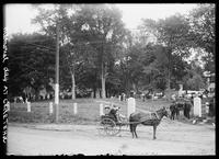 Decoration Day at the cemetery, Great Barrington, Massachusetts, May 30, 1905.