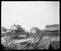 Two Sea Salts': docks and houses in Marblehead, Massachusetts, undated (ca. 1890-1910).