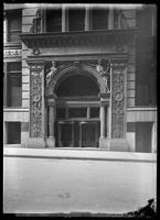 National Bank of Commerce entrance, New York City, 1913.