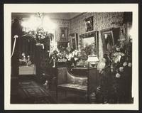 Frank J. Gould house, interior, undated [circa 1900-1910].