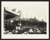 Taft campaign, Hot Springs, Virginia, circa 1908.