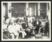 Meeting #2, unidentified men, Taft trip, (Philippines?), undated [circa 1905].