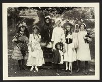 Children in costumes, group photo, undated [circa 1900-1910].