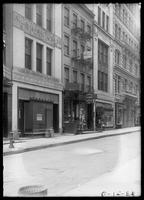 16, 18, 20, and 22 John Street, New York City, 1909.