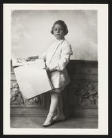 Unidentified child with book, undated [circa 1900-1910].