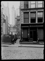 19 John Street and lane, New York City, 1899.