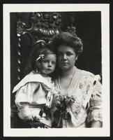 Unidentified woman with girl, undated [circa 1900-1910].