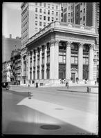 The Knickerbocker Trust Company building, Fifth Avenue and 34th Street, New York City, 1905.