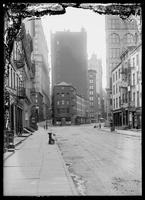 View along Maiden Lane, New York City, undated (ca. 1890-1919).
