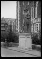 Statue of Alexander S. Webb, President of the College of the City of New York, New York City, undated (ca. 1906-1919).
