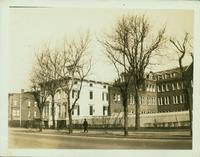 Bushwick: Andrew Stockholm House,  northeast corner of Bushwick Avenue and DeKalb Avenue, 1923.