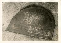 Brooklyn: marker plaque for the Battle of Long Island, Prospect Park, 1922.