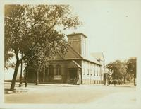 Bushwick: Bushwick Baptist Church, north side of Bushwick Avenue between Hancock Street and Weirfield Street, 1923.