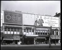 125th Street between Lenox Avenue and Seventh Avenue, New York City, October 1919: Brill Brothers, O-Cedar Furniture Polish. Also storefronts for Christensen School of Popular Music, Leight Bros. Outfitting Company, Sol Young (photographer), New York Tele