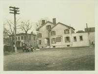 Jamaica: John McLoughlin, east  side of Beaver Street, rear on Fleet Street southwest of Tator [?] House, 1923. [Judges Chop House.]