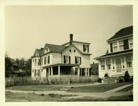 Jamaica: Aaron Oakley Ketcham House, east side of Hollis Avenue opposite Purdy Avenue (102nd Avenue), Hollis, 1923.