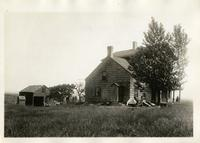 Flatlands: Bennett House, north side of Mill Lane at E. 59th Street or E. 64th Street, 1922.