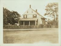 Flatlands: 1754 Flatbush Avenue, Stoolhoff-Duryea House, at the junction with Avenue J and E. 35th Street, 1922.