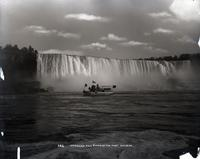 "American Falls and the """"Maid of the Mist,"""" Niagara Falls, undated."